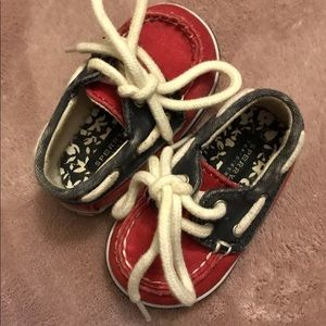 Baby Sperry Shoes 1M